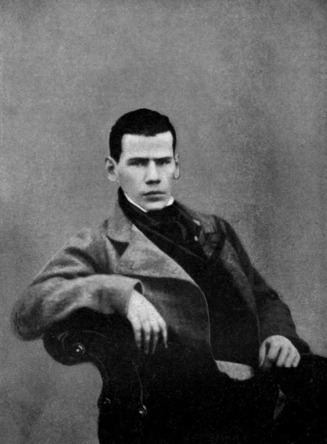 Young Tolstoy