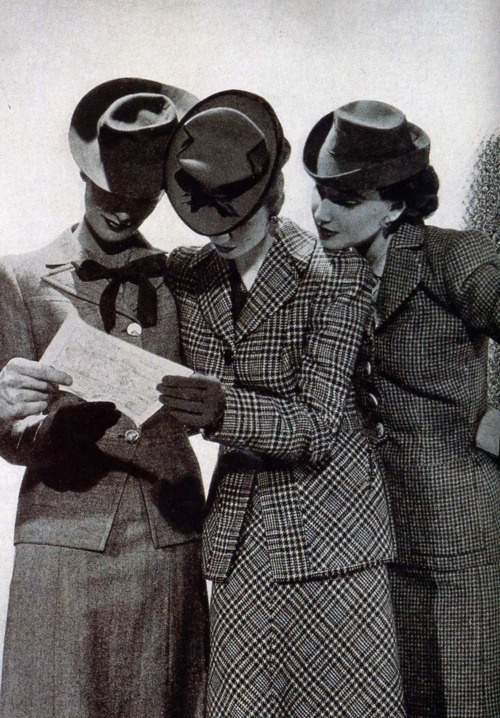 """1940s """"Skirt Suits"""""""