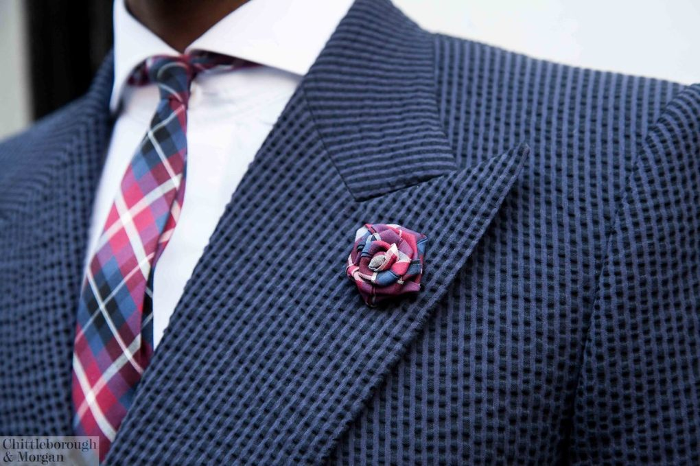 Peak lapel by C&M